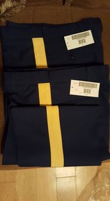 3 Pairs US Army Service Uniform ASU Men's Dress Blue Enlisted Trousers Pants 35R in Fort Benning, Georgia