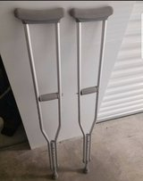 crutches in Fort Bliss, Texas