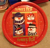 Tin cookie plates in Fort Irwin, California