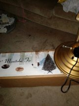 Christmas tree with revolving stand in Naperville, Illinois