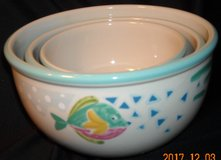 Studio Nova BARRIER REEF 3-Piece Mixing Bowl Set in Naperville, Illinois