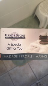 $65 Hand and Stone spa gift card in Naperville, Illinois