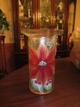 BEAUTIFUL!!  Handpainted Cylinder Candle / Scent Diffuser/ Vase   BRAND-NEW! in Naperville, Illinois
