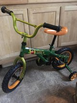 Go Diego dino rescuer 12 inch bike with training wheels in Fort Knox, Kentucky