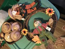 Fall decorations in Fort Polk, Louisiana