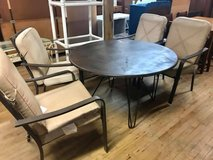Patio Table with 4 Chairs in Camp Lejeune, North Carolina