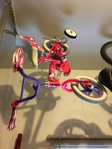 girls toddler bicycle with training wheels in Naperville, Illinois