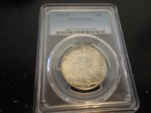 1939d pcgs ms64 liberty walking half dollar in Fort Campbell, Kentucky