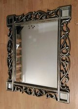 Vintage (Antique) Burnished Gold Vines Wall Mirror in Wood Frame 37x31 in Macon, Georgia