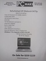 HP Elitebook 8470p i5 2.6ghz 4GB 500GB Business laptop Win 10 pro in Bolingbrook, Illinois