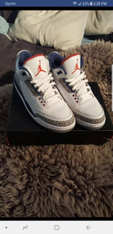 Jordan 3s in Fort Irwin, California