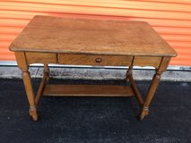 Antique Qtr Oak Server, Desk, Table w/Drawer in Cherry Point, North Carolina