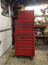 Red SnapOn tool chest -KRA 2055 in Orland Park, Illinois