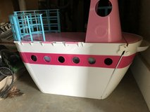 Barbie boat and accessories in Fort Rucker, Alabama