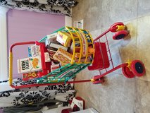 Kids Grocery Shopping Cart with Food in Schaumburg, Illinois