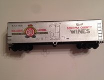 Vintage HO-Scale Finest Wines Train Car in Bolingbrook, Illinois