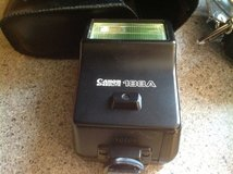 Canon AE1 camera with flash in Glendale Heights, Illinois