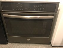 GE Black stainless single oven electric in Houston, Texas