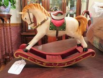 Wooden Rocking Horse in Bolingbrook, Illinois