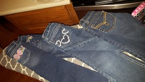 Lil girl's,jeans and 1 pair leggings in Lawton, Oklahoma