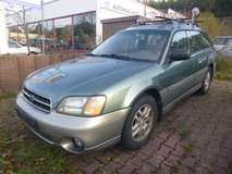 2001 Subaru Outback just pass inspection - AWD US Specs. in Ramstein, Germany