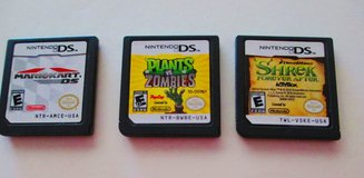 8 DS games Mario Batman Sonic Spider-man etc ... in Fort Campbell, Kentucky