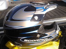 New Motorcycle Helmet in Fort Bliss, Texas