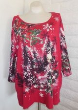 Christmas Tops/Shirts from Catherine's 3x in Houston, Texas