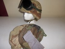 PASGT helmet with accessories in Alamogordo, New Mexico