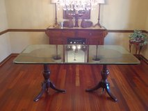 Glass Dining Room Table in Lockport, Illinois