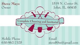 Complete Cleaning and Janitorial   Family Owned and Operated in Plainfield, Illinois