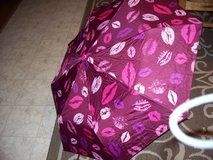 lips umbrella with protective cover and silky holder in Travis AFB, California