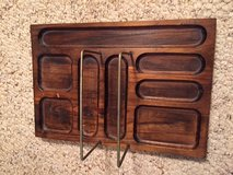 Wood Dresser Organizer Valet Tray (Reduced) in Cherry Point, North Carolina