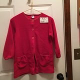 Red polar fleece robe (Petit Bateau) in Naperville, Illinois