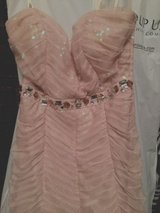 Peachy Gown Evening Dress Adrianna Papell XS in Ramstein, Germany