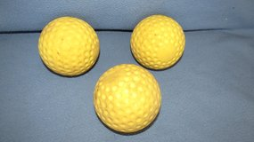 12 inch Pitching Machine Dimple Balls (used) in St. Charles, Illinois