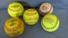 11 and 12 inch Softbal Practice Balls in St. Charles, Illinois