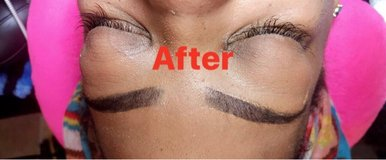 brows and eyelash extensions in Beaufort, South Carolina
