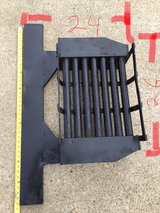 Fireplace grate in Fort Campbell, Kentucky