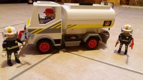 PLAYMOBIL tank truck incl. 3 figures -great condition! in Spangdahlem, Germany
