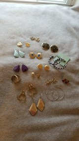 Earring Lot - 15 pairs in Plainfield, Illinois