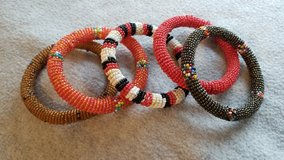 5 beaded bracelets in Plainfield, Illinois