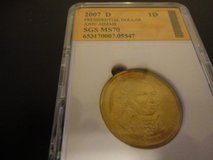 2007 d Presidential dollar  john adams   ms70 interested text 931 218 8243 in Fort Campbell, Kentucky