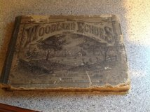 Woodland Echoes Music Book 1878 in St. Charles, Illinois