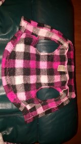 PINK PLAID DOG SWEATER in Bartlett, Illinois
