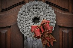 Christmas Gumball Wreathes in Beaufort, South Carolina