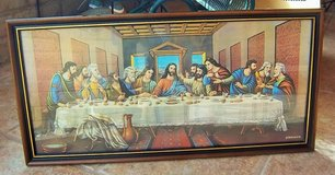 """Picture of the Lord's Supper 14""""X28"""" framed and matted in Alamogordo, New Mexico"""