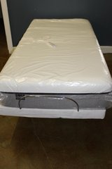 Twin XL Adjustable Base and Memory Foam Mattress (Lull) in Spring, Texas
