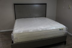 Modern King Size Bed Including Mattress in Spring, Texas