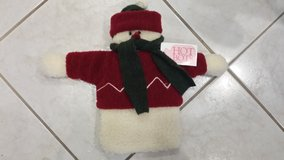 RARE Woof and Poof Snowman Hot Water Bottle in St. Charles, Illinois